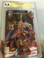 Batman Who Laughs #1 CGC SS 9.8 2x Sigs Snyder & Jock ComicXposure C Edition