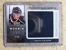 08-09 UD2 Rookie Playmakers Jersey #RP-NF NIKITA FILATOV /100