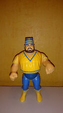 Original WWF WWE Hasbro Akeem One Man Gang 1990 80s Wrestling figure Hogan macho