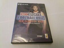Sky Sports Football Quiz Saison 2 Kirst gallacher UK PC CD ROM Neu Versiegelt Fußball