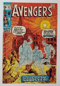 Avengers #85 VF 8.0 1st Squadron Supreme! Roy Thomas & John Buscema!