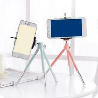 Phone Holder Cellular Clip Photography Stand Digital Tripod Bracket Camera W6X0