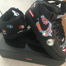 Supreme x Nike x NBA  Air Force 1 Mid Black Size 10.5