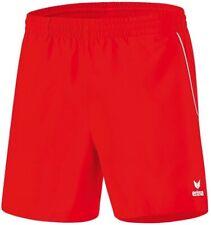 erima Kinder Shorts Tischtennis, Kurze Hose, Trainnings Short rot/weiß, 140