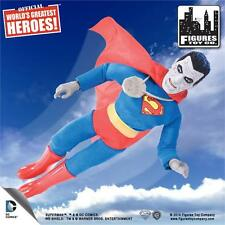 "DC Comics Bizarro Retro mego 8"" Series 1 SUPERMAN  (NEW poly bagged)"