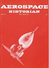 AEROSPACE HISTORIAN V18 N4 SWISS AF / PIONEER ARCTIC FLYING / WW2 USAAF CATALINA