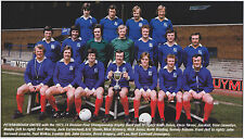PETERBOROUGH UNITED FOOTBALL TEAM PHOTO>1973-74 SEASON
