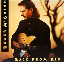 ROGER McGUINN - BACK FROM RIO  arista bmg 211 348 LP 1991 GER  tom petty