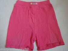 Bebé Niña Rosa 100% Pantalones cortos de algodón Edad 12-18 meses