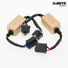 2pcs H4 9003 LED Headlight Canbus Decoder Anti Flicker Error Free Load Resistor