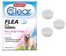 Flea Tablets LARGE DOG Bob Martin Clear Flea Kill Treatment UK STOCK EASY SAFE