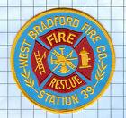 Fire Patch - West Bradford Fire Co. Station 39