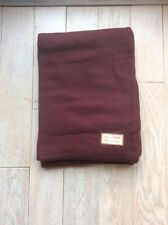 I.S. Studio 100% Cashmere Throw - Burgundy - Brand New