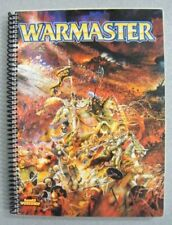 VINTAGE 2000 WARMASTER CORE RULE BOOK HTF SPIRAL BOUND EDITION Games Workshop