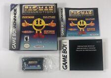 Pac-Man Collection Nintendo Game Boy Advance 2001 CIB Complete GBA SP
