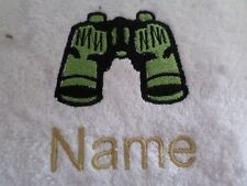 YING YANG and Personalised Name Embroidered onto Towels Bath Robes Hooded Towel