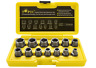 Topec Impact Bolt & Nut Remover Set 13+1 Pieces, Nut Extractor Socket, Bolt Remo