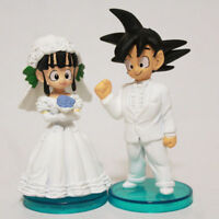Anime Dragon Ball Z DBZ Young Son Goku/Gokou & ChiChi Figure Toys Kid Favor Gift