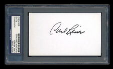 Carl Reiner Signed Mint Index Card Autographed Psa/Dna Slabbed Beautiful!
