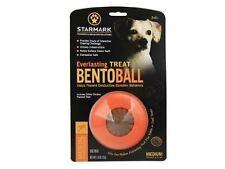 Starmark Everlasting Bento Ball Dog Toy Chew and Treat Medium