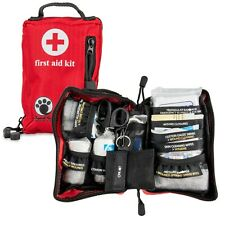 Cheetah Paw Small First Aid Kit for All Outdoor Adventure, Car with Face Mask