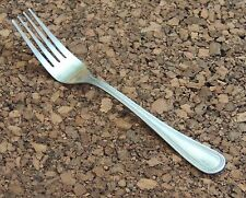 "Pfaltzgraff Pearl Fork 1 Dinner Flatware 18/0 Stainless China Bead Outline 7.5"""