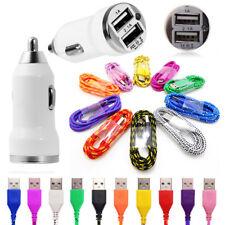 Dual USB Car Charger +Micro USB Data Cable for Sony Xperia X XA Z5 Z3 Z2 Z1 Z SP