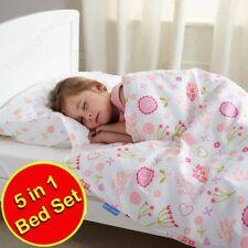 Linge de lit et ensembles rose pour chambre en 100% coton