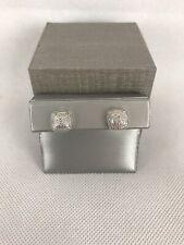 Zales Cushion Halo Diamond Earrings $119 Retail