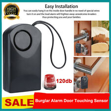 Wireless Burglar Alarm Door Touching Sensor 120db Loud Alert  For Home Travel
