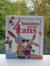 LIVRE MES HISTOIRES D ANNIVERSAIRE 4 HISTOIRES POUR MES 4 ANS FLEURUS