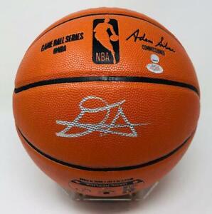 DEANDRE AYTON Phoenix Suns Autographed Game Ball Series Basketball STEINER