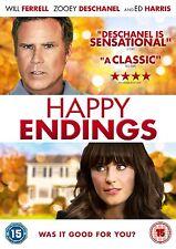 Happy Endings on DVD, 2013 Will Ferrell Zooey Deschanel Ed Harris
