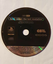 ❗ Tomb Raider The Last Revelation Playstation 1 Promo Disc psx ps1 SLES 02238 ❗