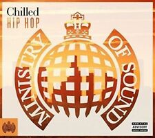 MINISTRY OF SOUND (CHILLED HIP HOP ANNUAL 2016 - 2 CD SET SEALED + FREE POST)