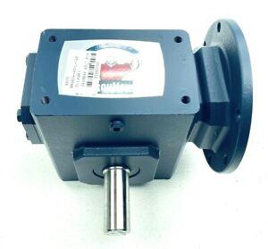 NEW IRONMAN GR-BMQ-824-40-L-140 / GR8240188.00 SPEED REDUER GEARBOX 40:1-RATIO