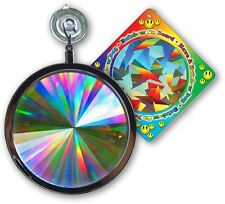 "Suncatcher - Axicon Rainbow Window - Includes Bonus ""Rainbow on Board"" Sun"