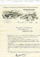 Dépt 70 - Corravillers - Belle Entête Forge Laminoir & Taillanderie de 1920