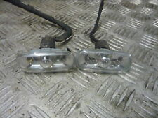AUDI A3 SPORT 2.0TDI 3DR 2003 PAIR SIDE REPEATER LIGHTS CLEAR LENSE 8E0949127