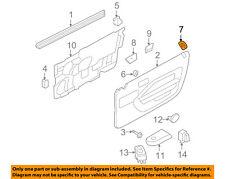FORD OEM 05-14 Mustang Door-Grommet Left 7R3Z63220A51AC