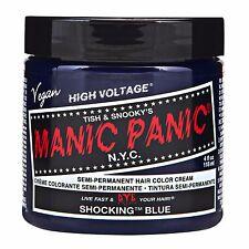 Manic Panic Vegan Semi Permanent Hair Color Cream 118 mL Shocking Blue