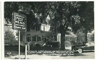 RPPC Lankford Manor Roadside Inn TIFTON GA Georgia Real Photo Postcard