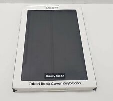 Samsung Book Cover Keyboard for Galaxy Tab S7 - Black (EF-DT870UBEGUJ) New