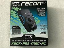 Creative Sound Blaster Recon3D THX USB External Sound Enhancer 4 PC MAC PS3 XBOX