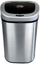 21 Gallon Touchless Motion Sensor Trash Can Hands Free Garbage Bin Waste Basket