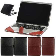 "For MacBook Pro 13"" w Touch ID A2289 A1708 A1989 13.3"" Leather Laptop Case Cover"