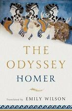 The Odyssey by Emily Wilson and Homer (2017, Hardcover)