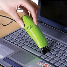 Mini Teclado USB Portátil Aspiradora Cepillo de polvo limpieza del hogar Suministros