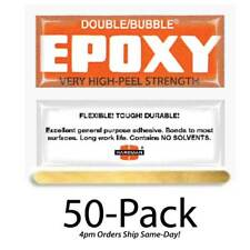 Hardman Double Bubble Orange  Epoxy-High Peel Strength 50-Pack-#04007