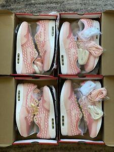"Nike Air Max 1 'Strawberry Lemonade"" Pink CJ0609-600 Size 9-11 100% Authentic"